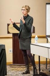 Gail Mandel at a recent RSRT meeting.