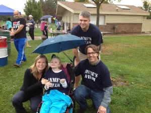 MacDonald Family at this year's Quest for a Cure