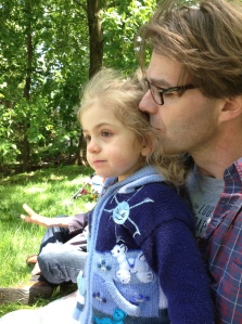 Tim and his daughter Eleanor