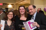 Monica Coenraads and Harvard University researcher Dr. Michael Greenberg at Blossoms for Kelly in Hopkinton, MA